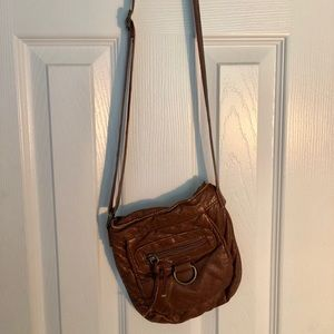 Faux Leather Cross Body with Adjustable Straps
